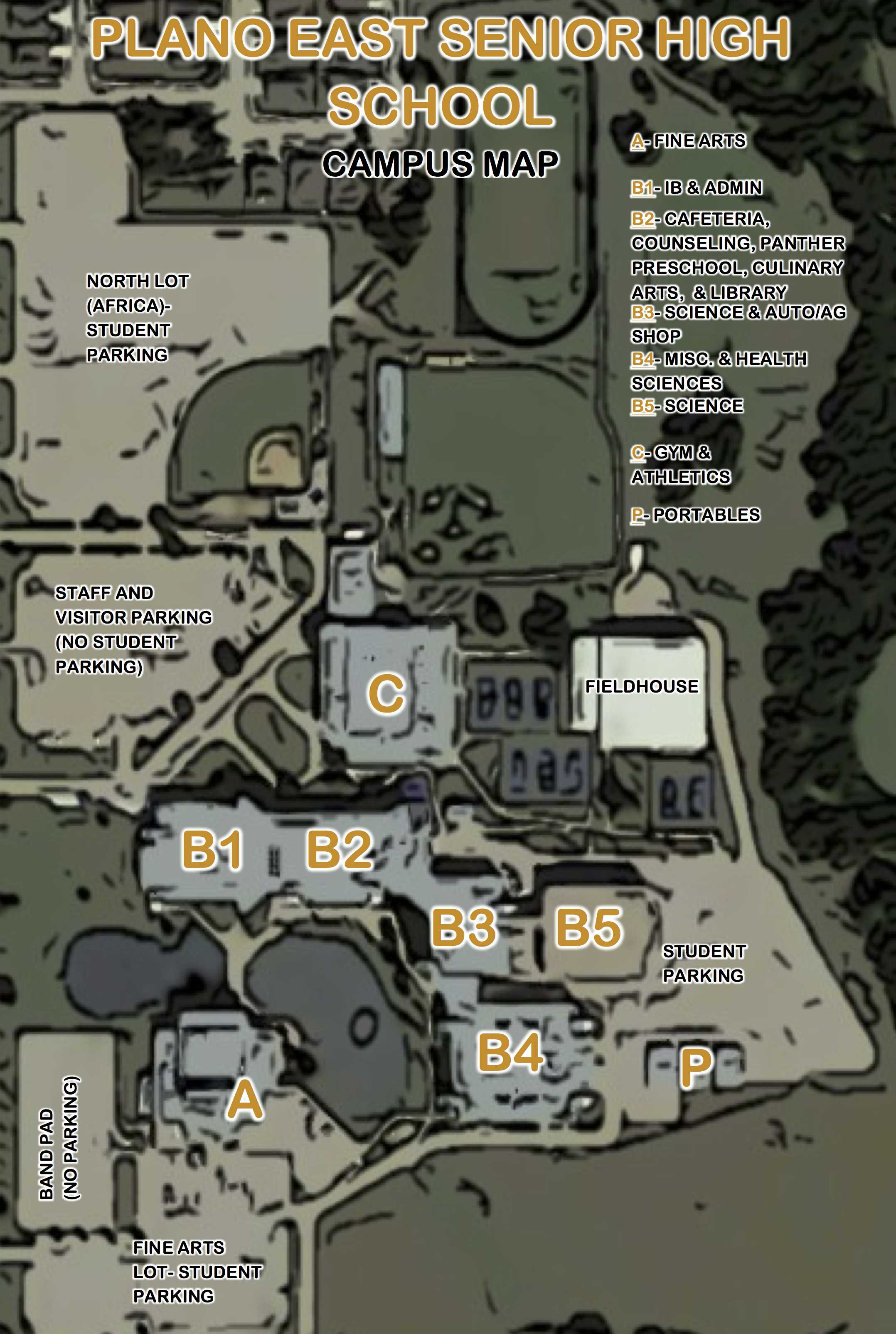 campus map – Panther Prints
