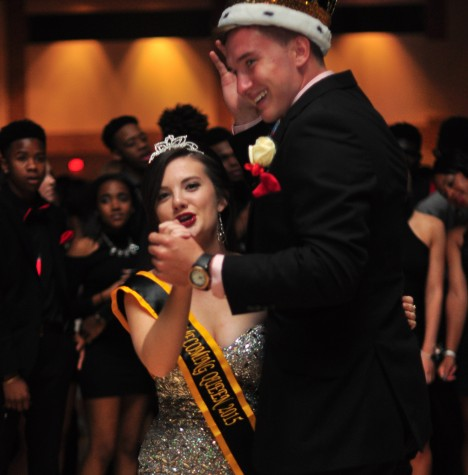 Congrats to the 2015 Homecoming King and Queen
