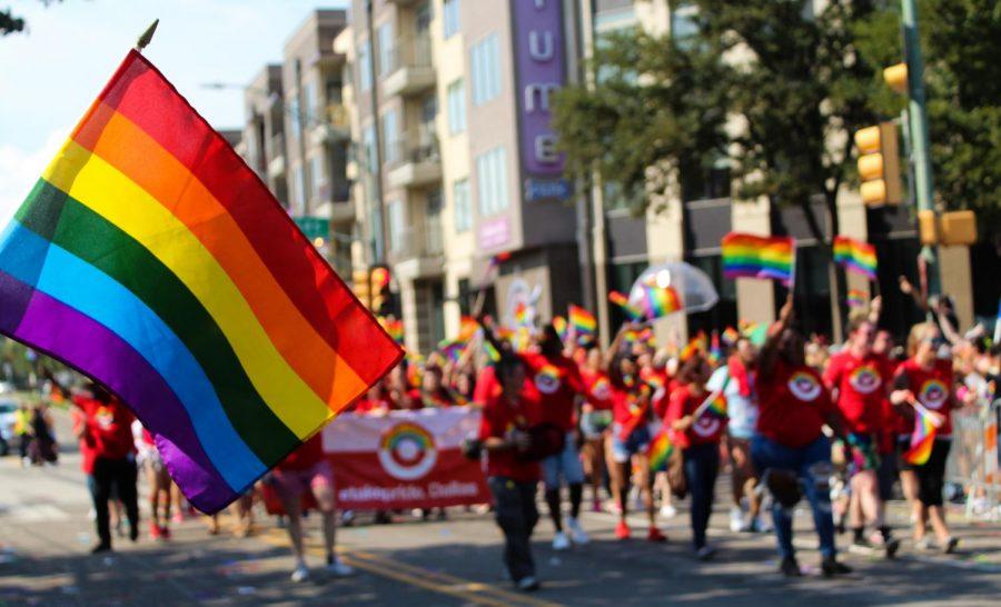 Dallas Pride Parade on Sept. 16.