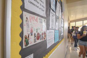 Posters promote discriminating dress code