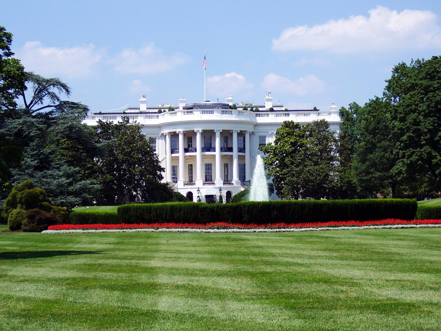 The White House, home of the Leader of the Free World and his Twitter account.