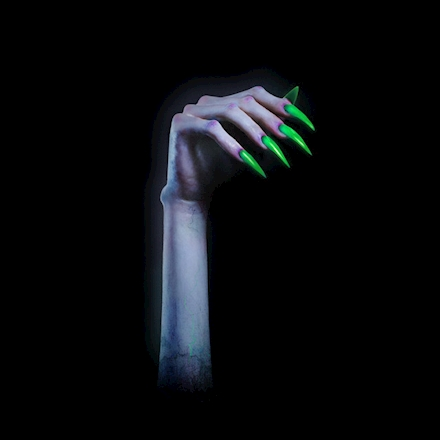 "The album cover for ""TURN OFF THE LIGHT"" is the same zombie-like hand as the one on the ""Vol. 1"" EP cover, but with Petras' nails painted green instead of purple."