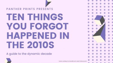 Ten things you forgot happened in the 2010s