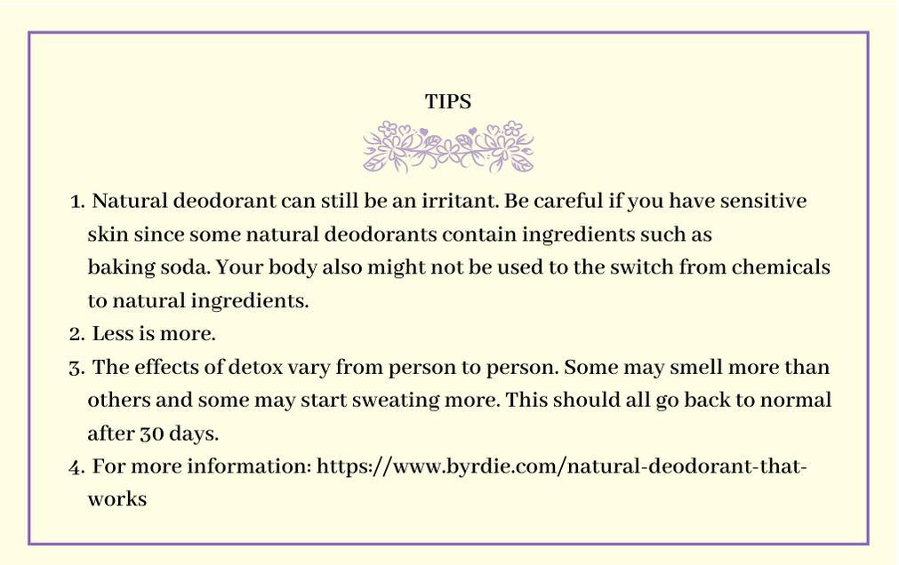 Deodorant+damage