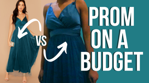Prom dress shopping: budget edition